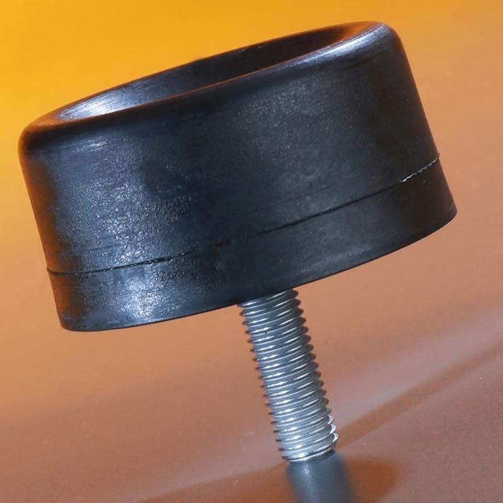 elasto-DS-Bumpers 1050DS 100x50 DS M16/45 NR 57 Shore A