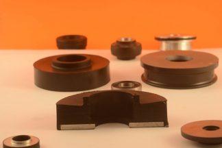 elasto-Rubber-Pads-Rods XX1569 114.3x26.97 XX Neoprene 65 Shore A