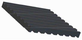 elasto-Damping-Rubber-Pads DP10 130x76 DP NR 50 Shore A